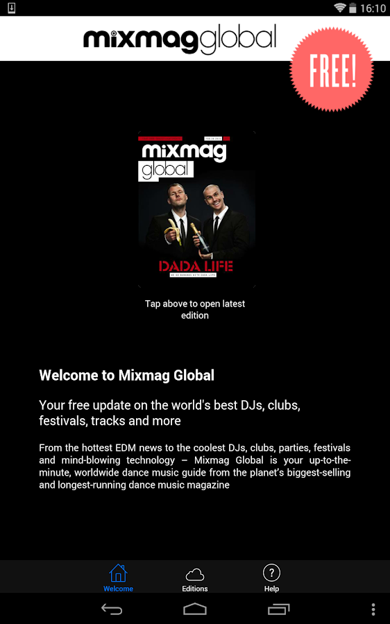 Mixmag Global - screenshot