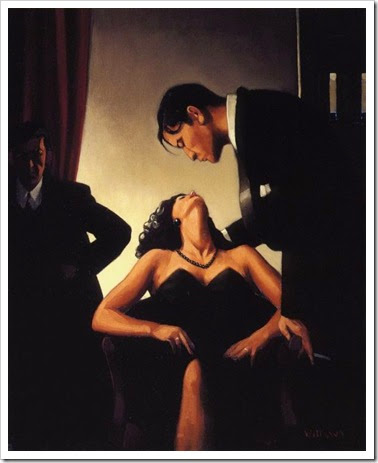 Jack Vettriano - Game of power