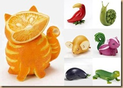 carving fruits