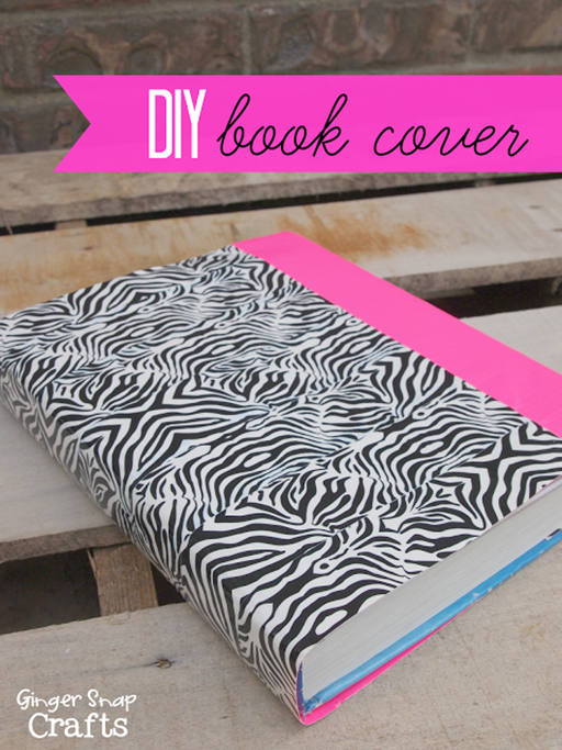diy book cover with #DuckTapeAtWalmart