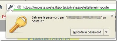 Firefox Ricorda la password
