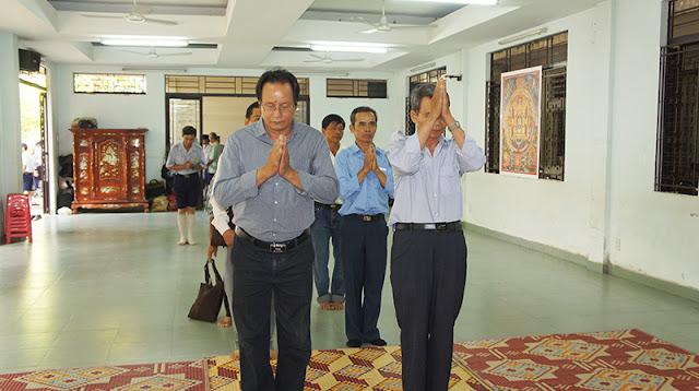 DSC06291 Lễ Hiệp kỵ   Lễ Huý Nhật Cư sĩ Sáng lập viên GĐPT Việt Nam   Tâm Minh Lê Đình Thám