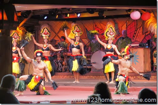 Disney's Polynesian Spirit of Aloha Dinner Show Dancers