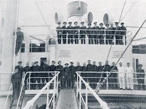 Tripulación del buque CAMPEADOR. Del libro CAMPSA. 1928-1932