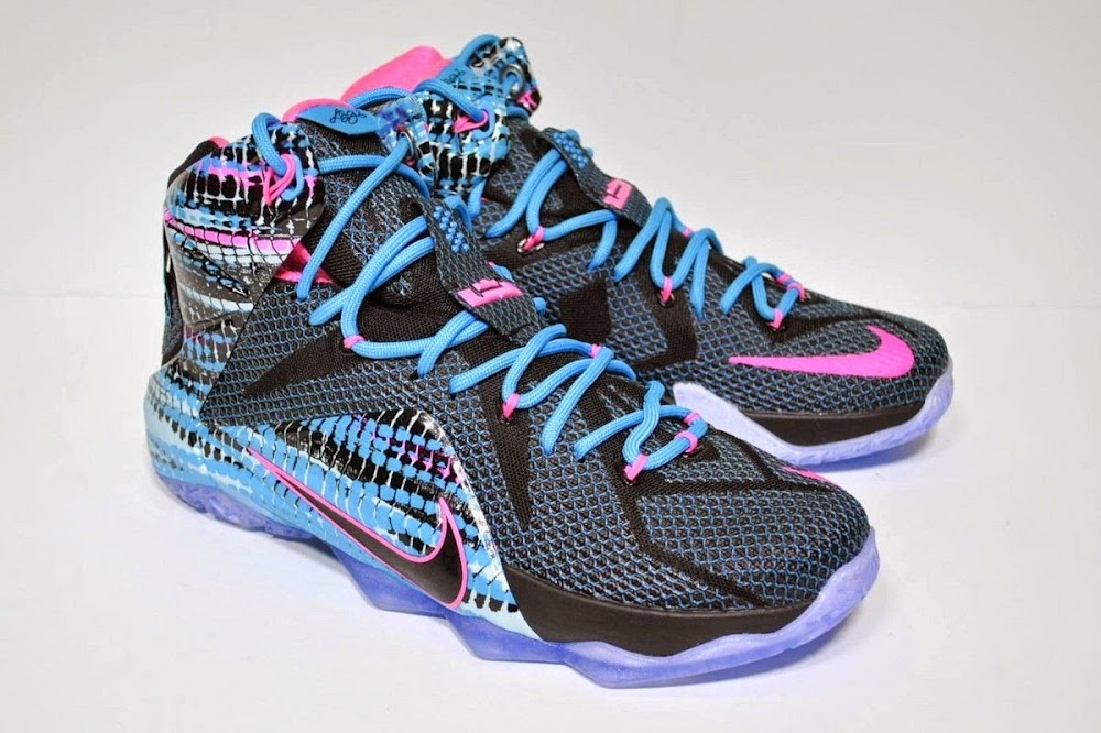 on sale 9221a 68a2a Release Reminder Nike LeBron XII 822023 Chromosomes8221 ...