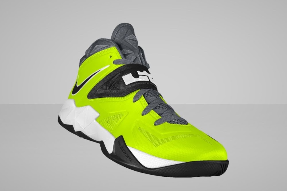 purchase cheap 97932 f25df ... LeBron Zoom Soldier VII Available for Customization at Nike iD ...