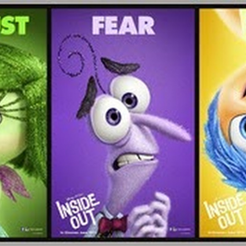 """Inside Out"" Gets Emotional with Character Posters"