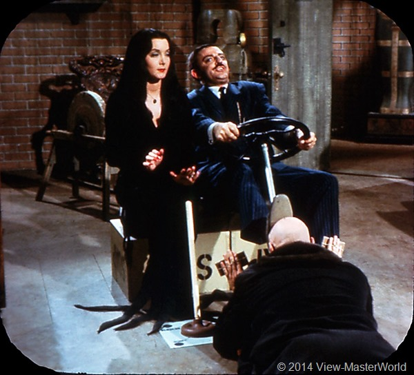 View-Master The Addams Family B486 Scene 14