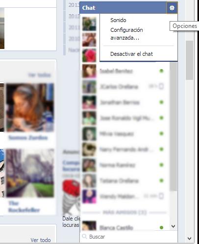 Ponerme desconectado de facebook