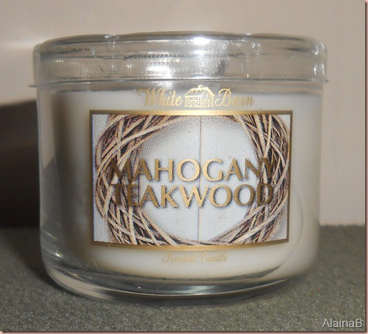 Beauty Blogger's VoxBox white barn candle
