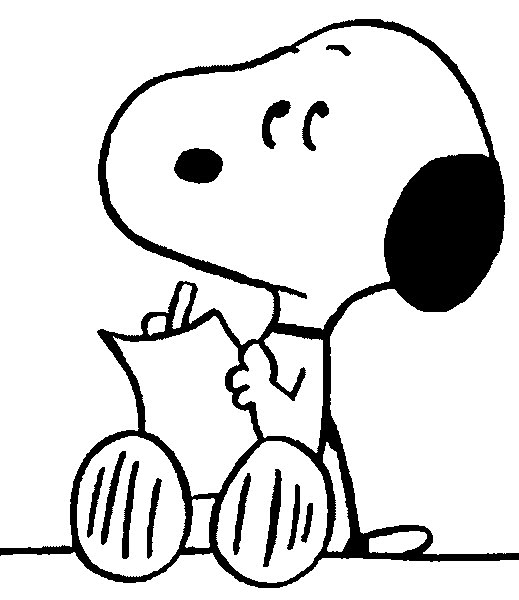 Colorear Dibujos De Snoopy