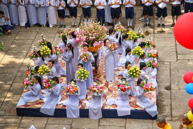 IMG 1829 Đại lễ Phật đản PL 2557 tại Tu viện Quảng Hương Già Lam