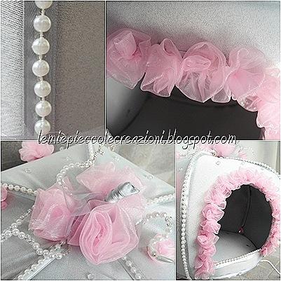 paarticolari carrozza rosa