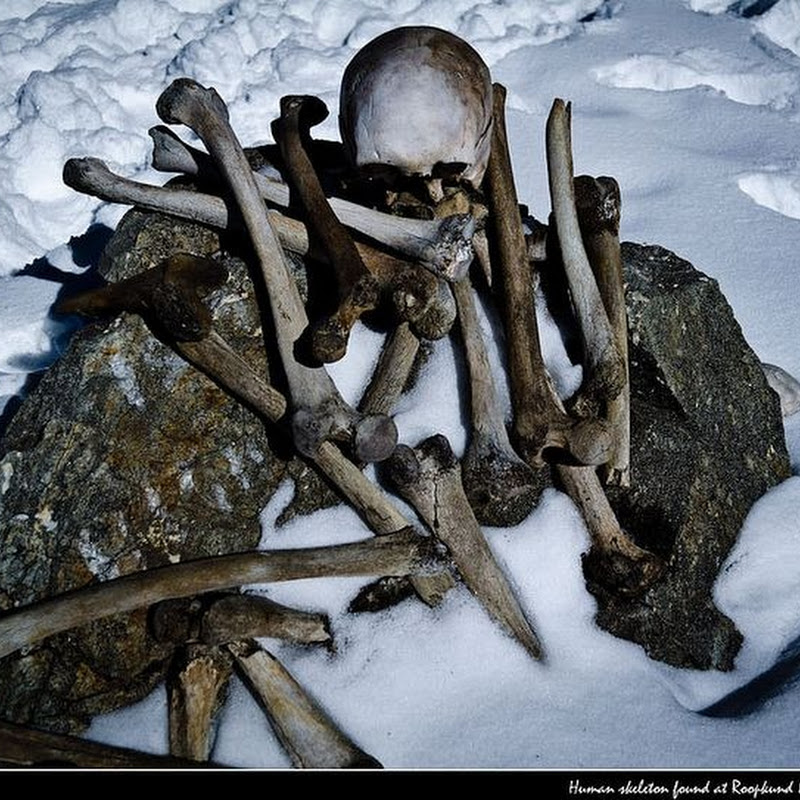 The Skeleton Lake of Roopkund, India