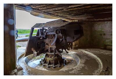 Östliche Landungsstrände - MKB Longues sur Mer - 15,2 cm Geschütz