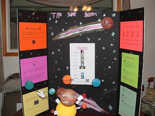 solar system science fair ideas - photo #8
