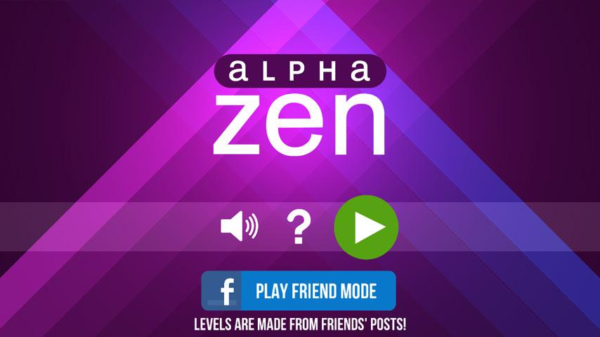 Alpha Zen- screenshot