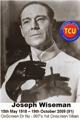 TCU 19th October 2014 5th Death Anniversary of Joseph Wiseman Dr No Actor