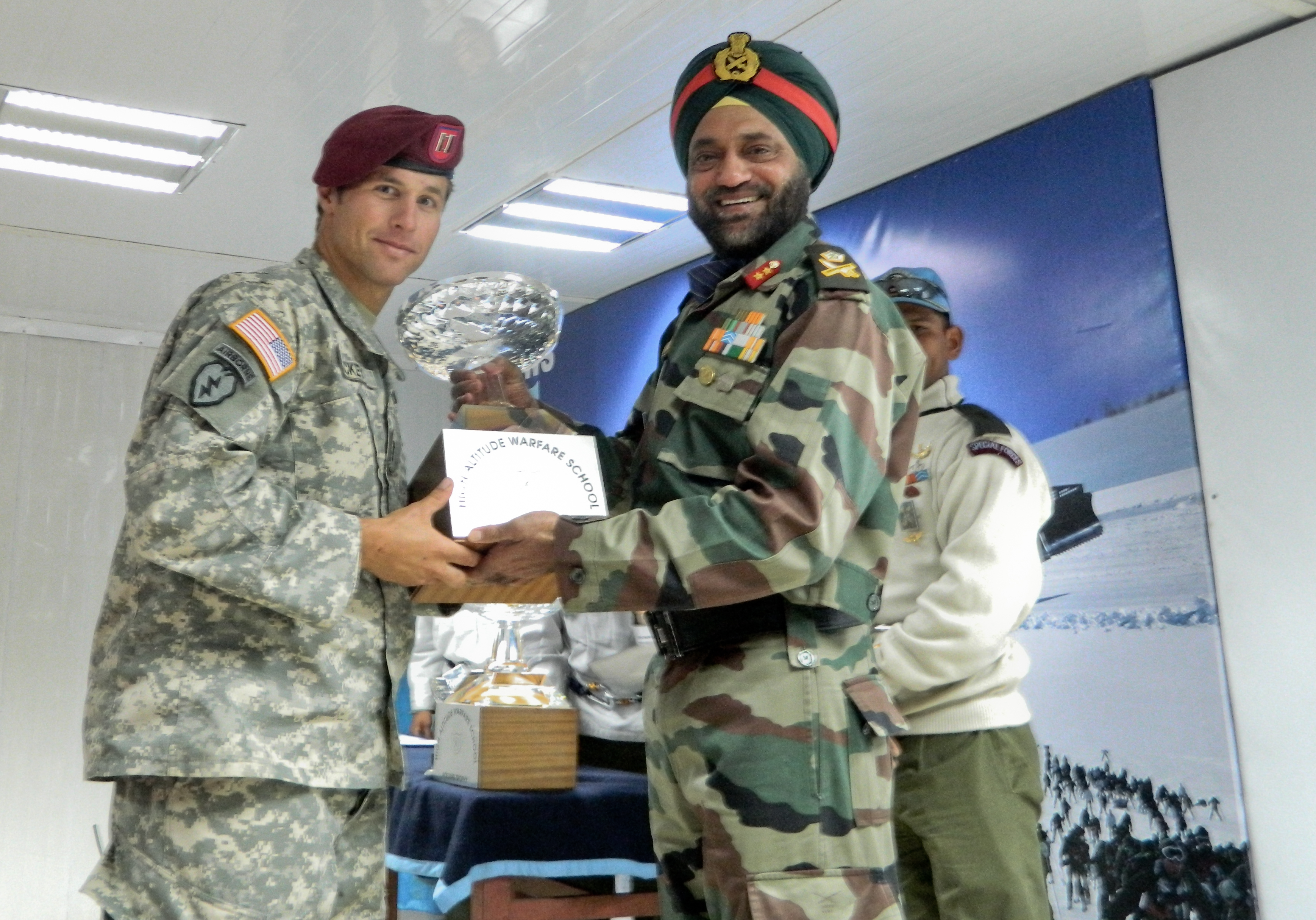 Us Soldier Tops Indian Army Course Conducted In Jammu And