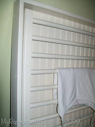 ballard design inspired drying rack