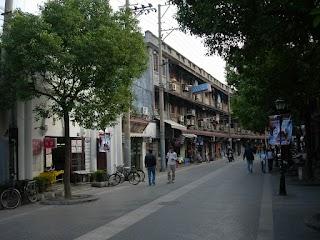 Duolun Lu (Rue des écrivains) à Shanghai