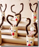 Wine Cork Reindeer Ornamentsq