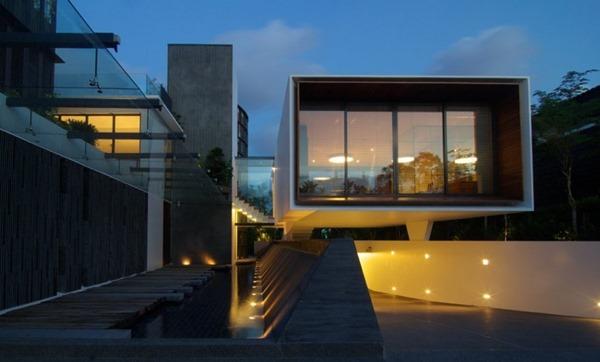 casa-de-fachada-moderna-con-hormigon