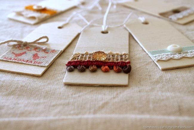 Embellished Wooden Tags via homework - carolynshomework (4)