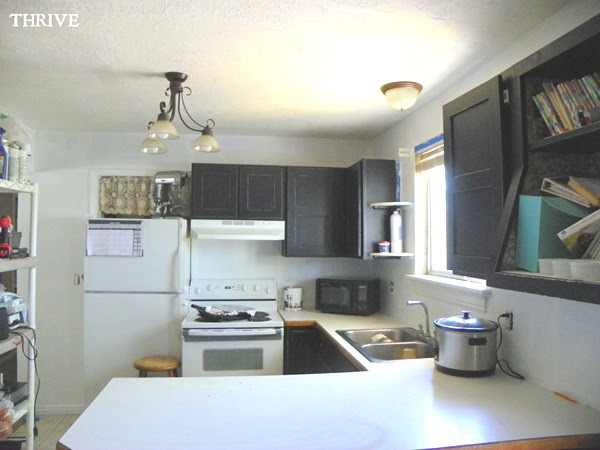 Where Your Money Goes In A Kitchen Remodel: Thrive: No-Money Remodel #3: Kitchen, Entry & Paint?