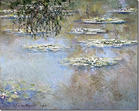 claude_monet - nuferi