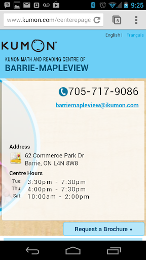 Kumon Barrie Mapleview