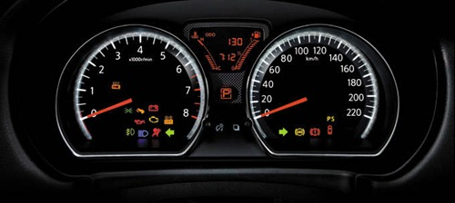 almera dashboard meters