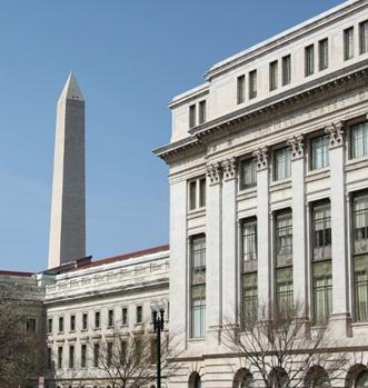 Washington Monument from Independence