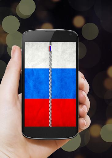 玩免費工具APP|下載俄羅斯國旗拉鍊鎖 app不用錢|硬是要APP