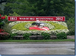 8573 corner Mississauga St & Queen St - Niagara-on-the Lake - war of 1812 Bicentennial garden