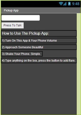 Pick Up Line Talker