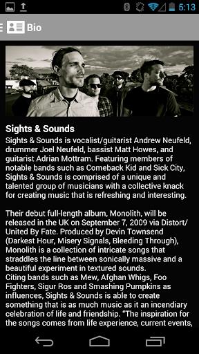 Sights Sounds
