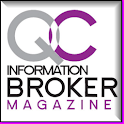 QC Information Broker Magazine logo