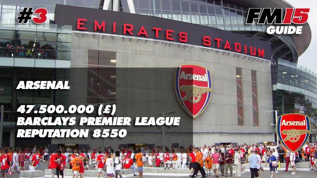 Arsenal FM15