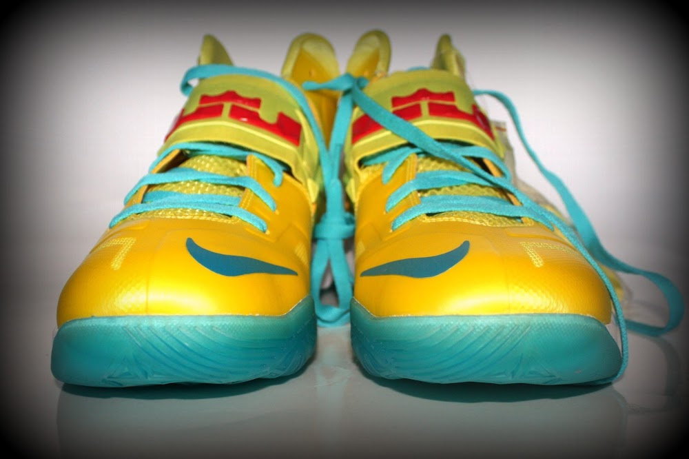 Buy Online 2015 Nike Zoom Soldier 7 Lebron James Cheap sale Pure