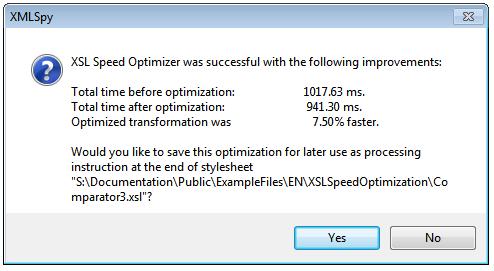 XSL Speed Optimizer for speeding up XSLT