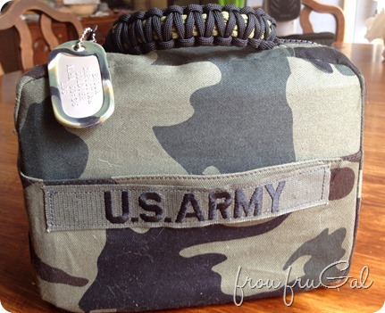 Army Scripture Case - Back
