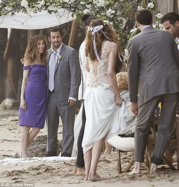 Wow! See what Adam Sandler was caught doing to his wife in ...