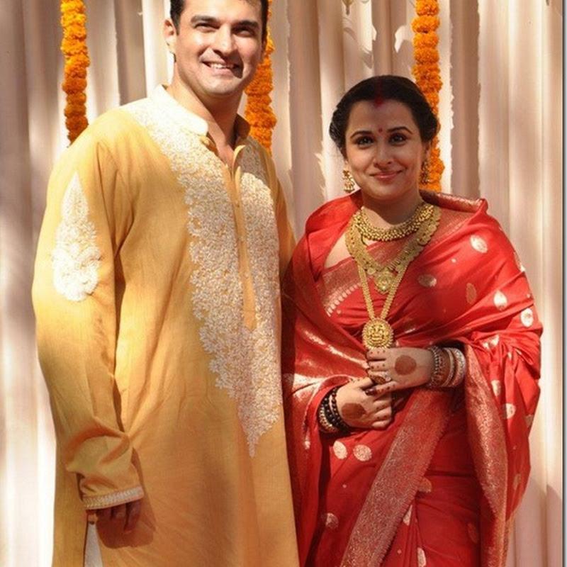 Bollywood Actress Vidya Balan Wedding Photos