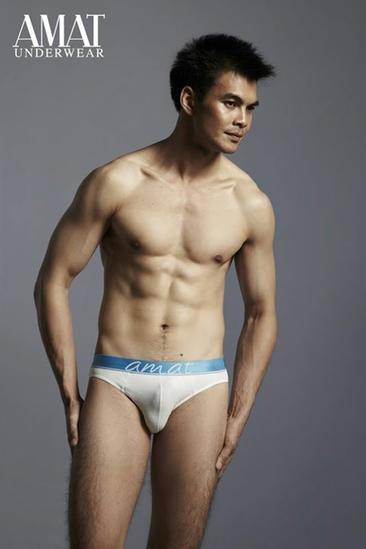 Asian male underwear models