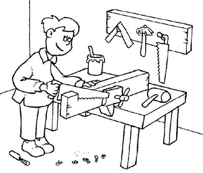 dibujos y actividades para el dia del trabajador. Black Bedroom Furniture Sets. Home Design Ideas