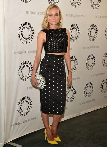 Diane Kruger Arrivals Bridge Presentation