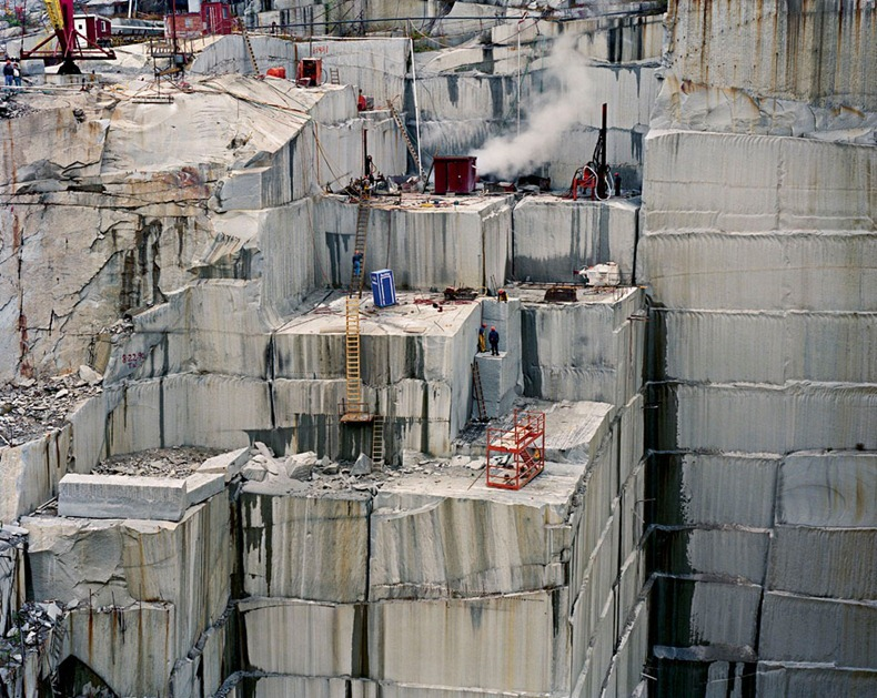 Edward Burtynsky S Photos Of Industrial Landscapes