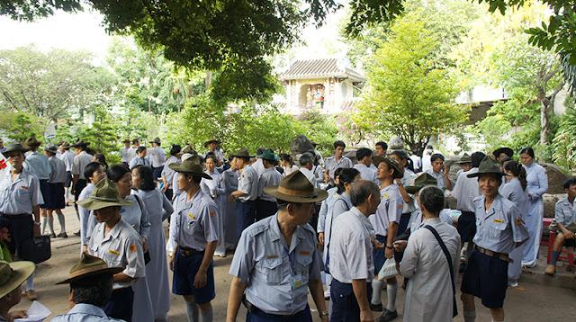 DSC06284 Lễ Hiệp kỵ   Lễ Huý Nhật Cư sĩ Sáng lập viên GĐPT Việt Nam   Tâm Minh Lê Đình Thám