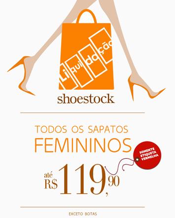 b52ea1a29 Sapatos Shoestock com preço máximo de até R$ 119,90. Peças em ...